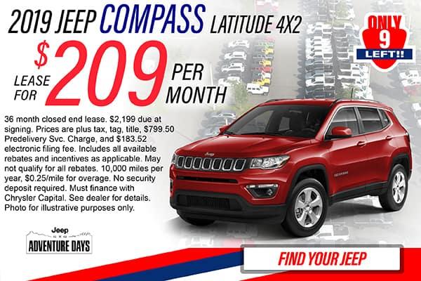 CDJR Lease Specials - Villages | Phillips Chrysler Jeep