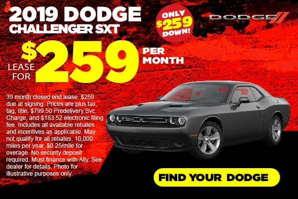 2019 Dodge Challenger Lease