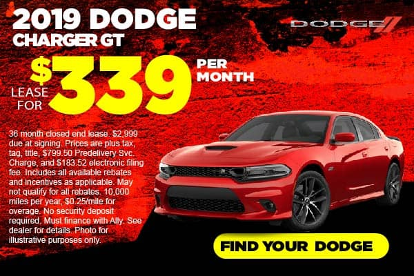 2019 Dodge Charger Lease