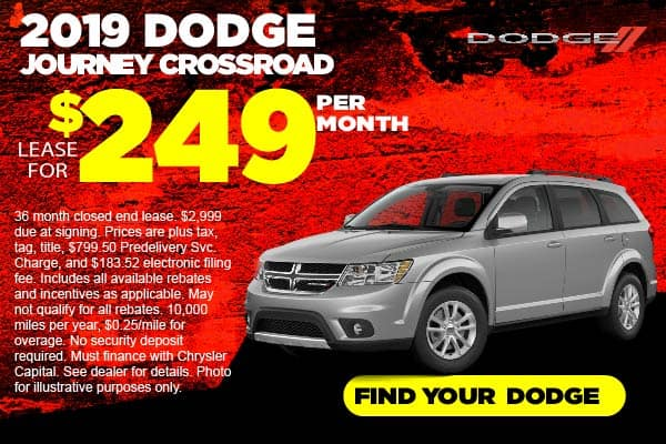 2019 Dodge Journey Lease