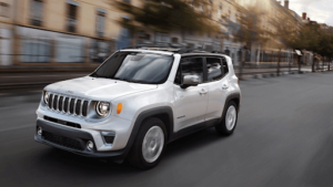 2020 Jeep Renegade Safety Features