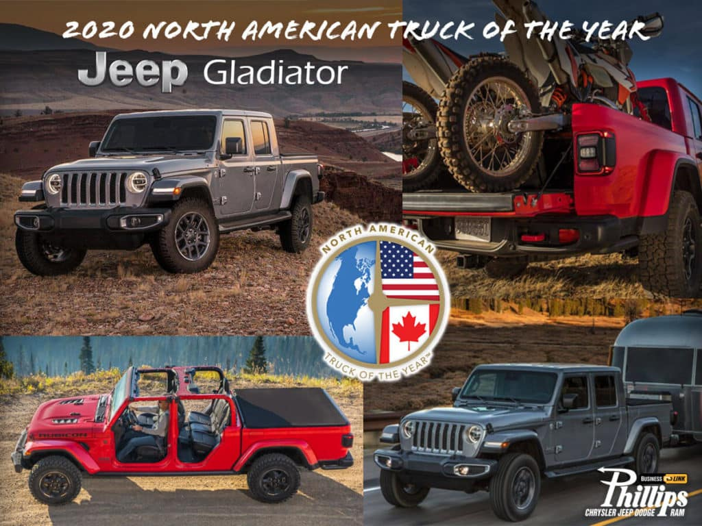 Jeep Gladiator - North American Car Of The Year