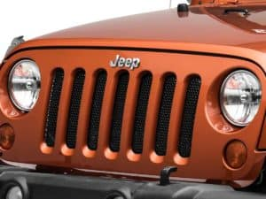why do jeep grilles have 7 slots
