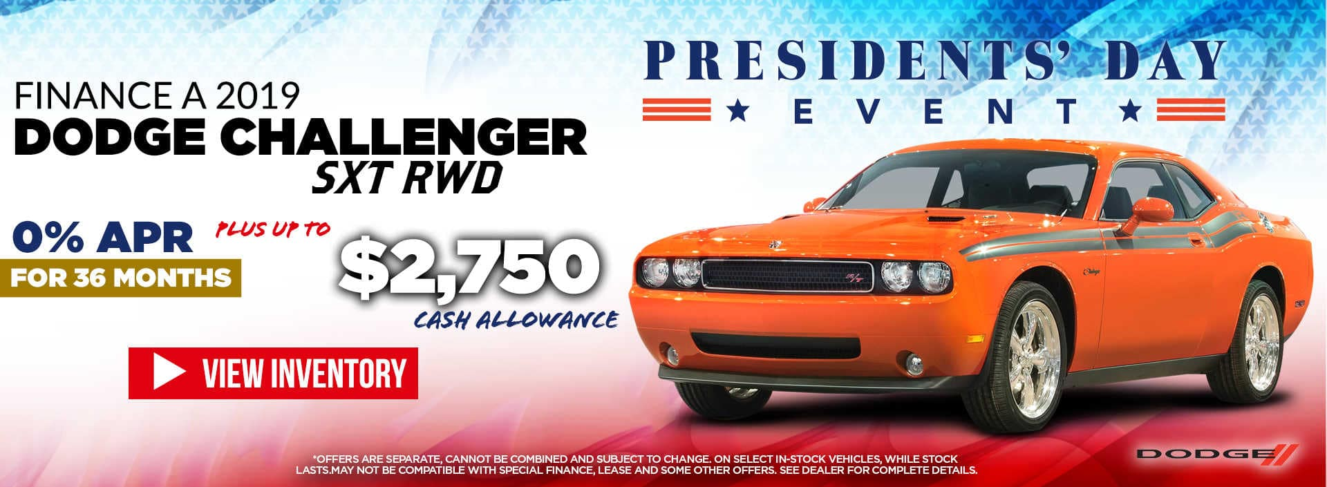 2019 challenger purchase