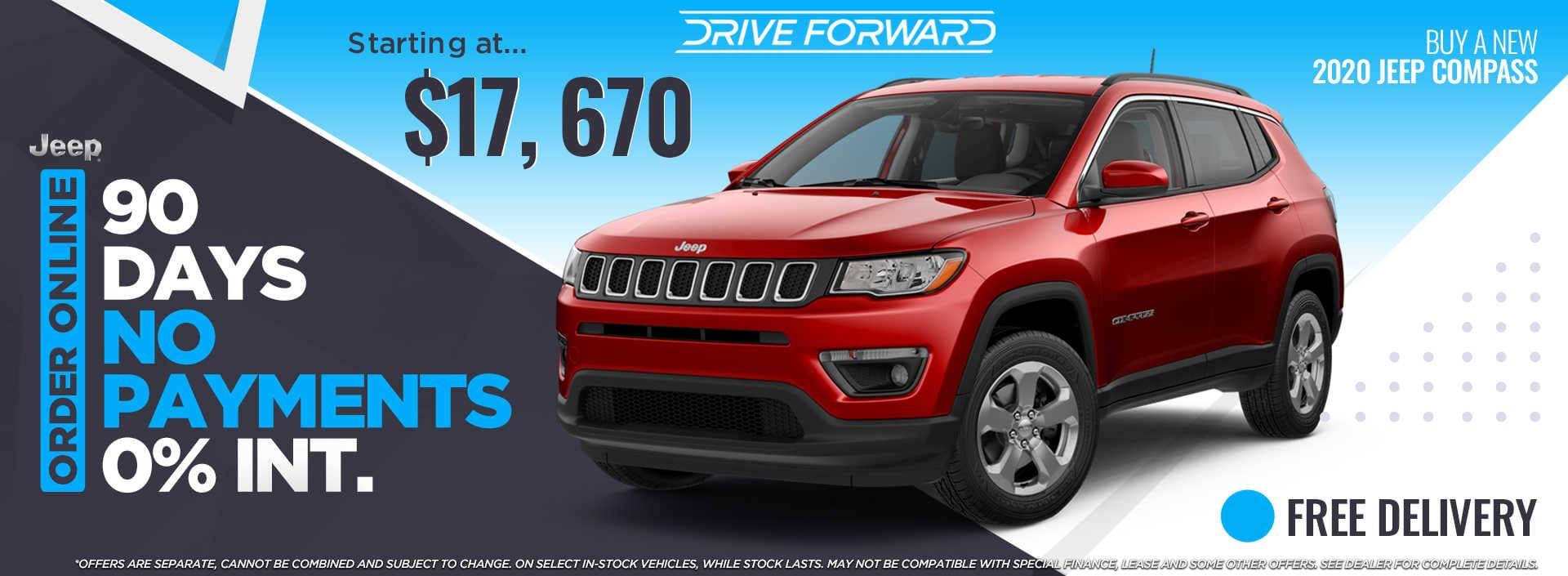 2020 Jeep Compass For Sale April