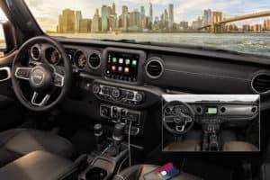 2020 Jeep Gladiator Interior Dashboard