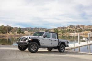 2020 Jeep Gladiator At Lake