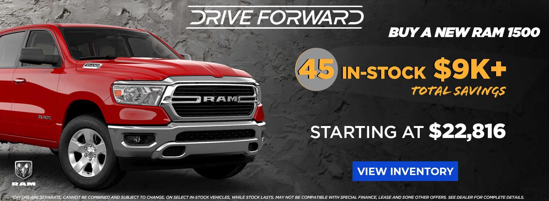RAM Trucks for sale 2020