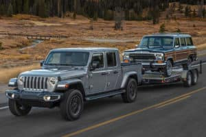 2020 jeep gladiator pulling trailer