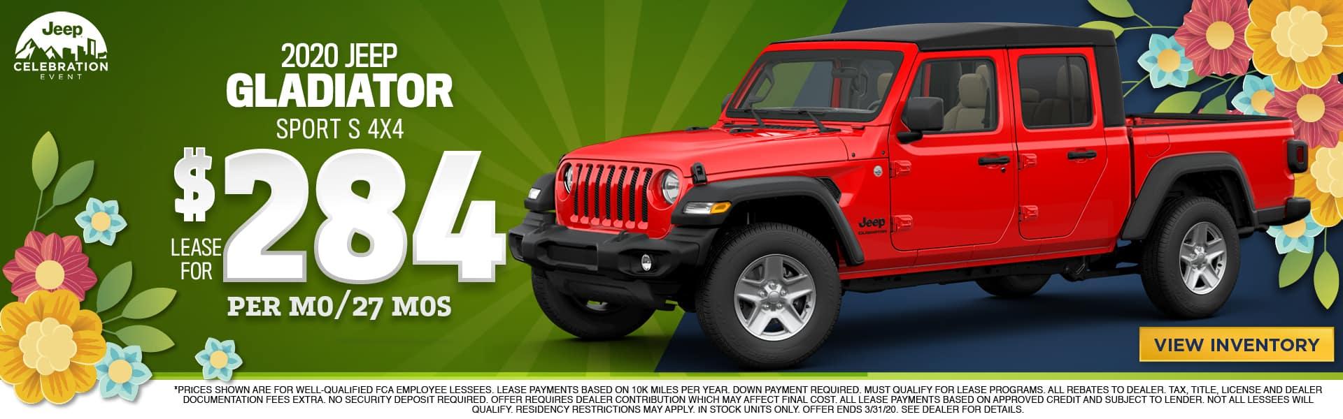 New 2020 Jeep Gladiator For Sale in Pinckney, MI