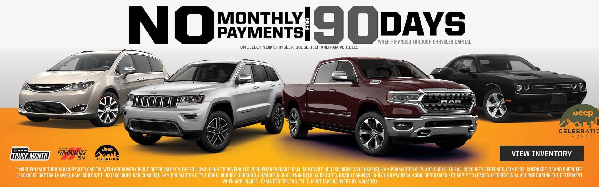 No Payments For 90 Days in Pinckney, MI
