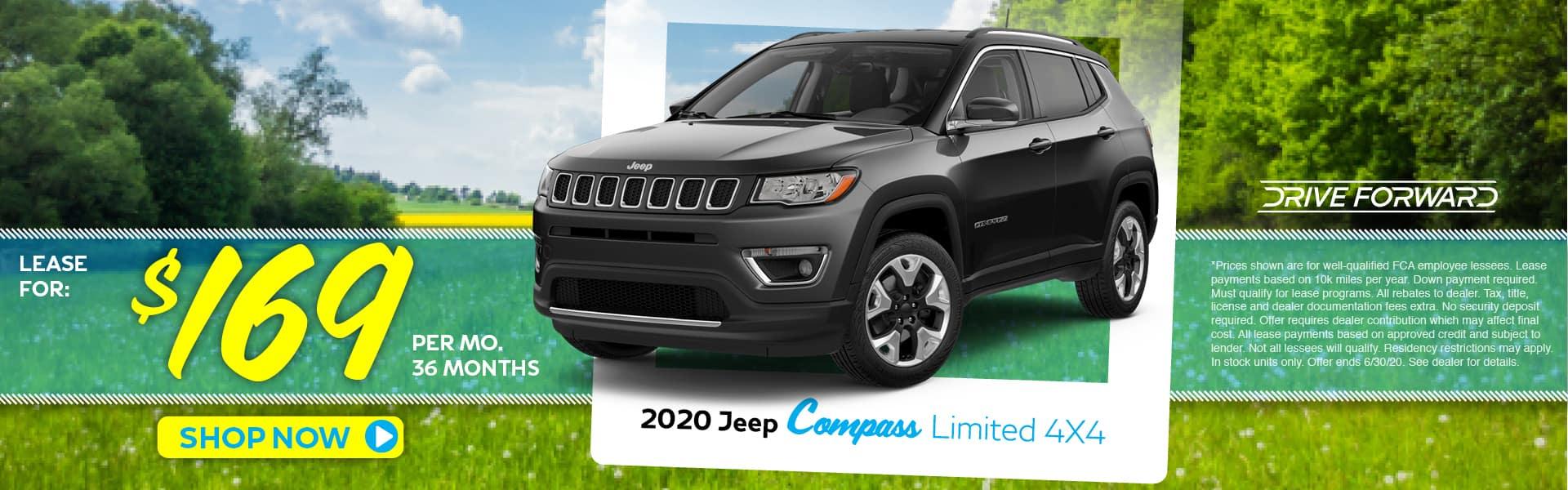 2020 Compass Lease Specials in Pinckney, MI