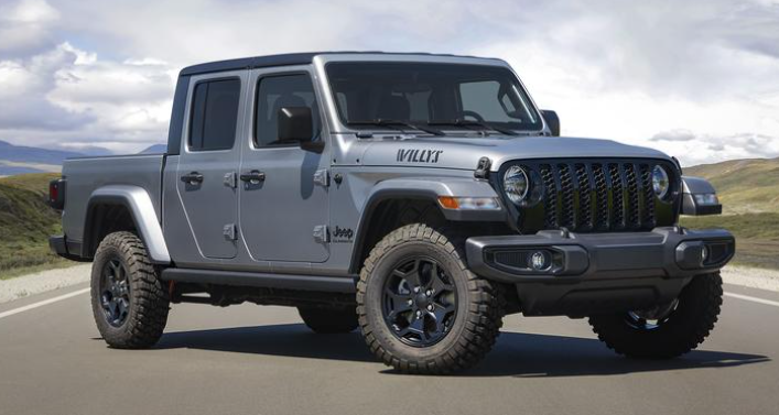 2021 Jeep Gladiator Willys Debuts