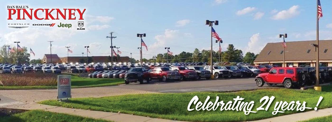 Celebrating 21 Years at Pinckney Chrysler Dodge Jeep RAM
