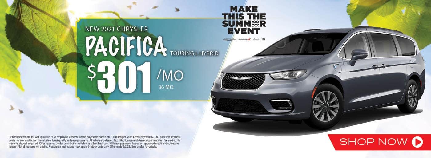 2021 Chrysler Pacifica Touring L Hybrid