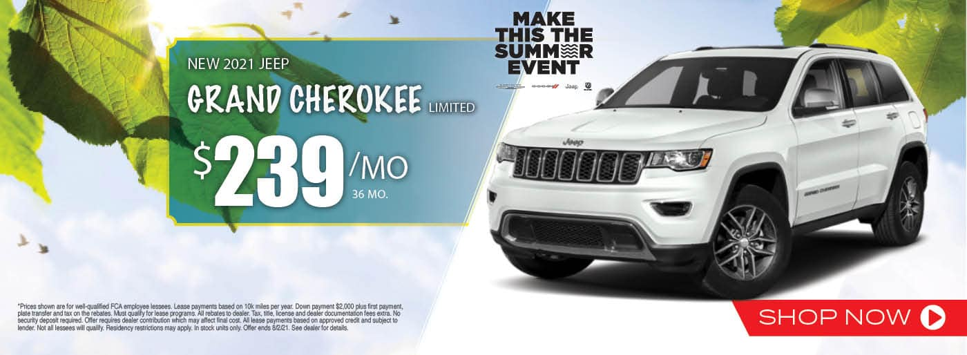 2021Jeep Grand Cherokee Limited