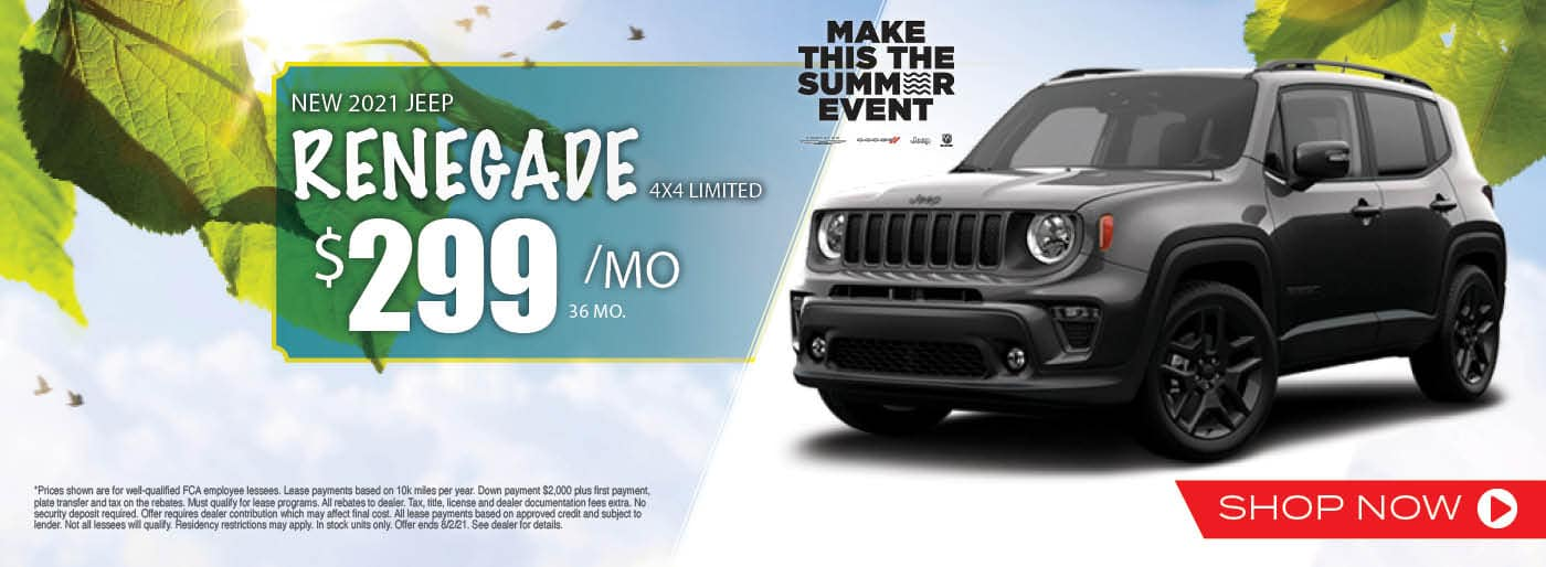 2021 Jeep Renegade 4X4 Limited