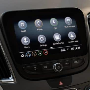 2019 Chevy Malibu Touchscreen