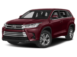 2019 Toyota Highlander model
