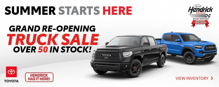Grand Re-opening Truck Sale