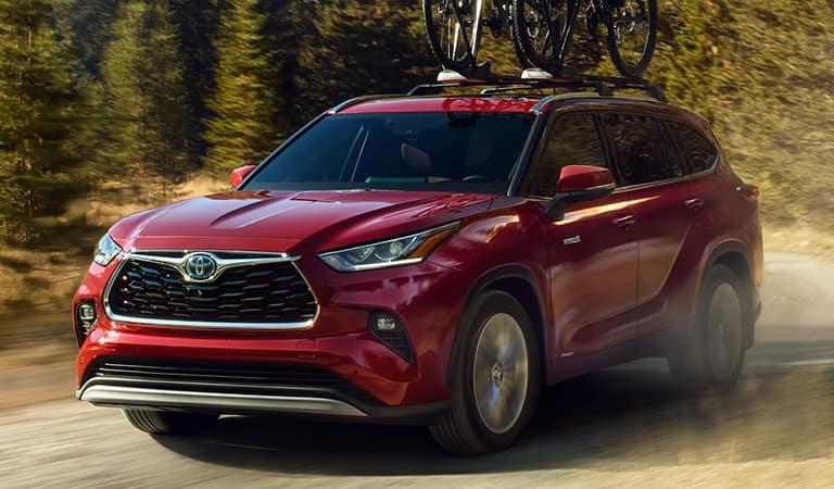 New Toyota Highlander Hybrid