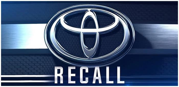 Toyota Recalls