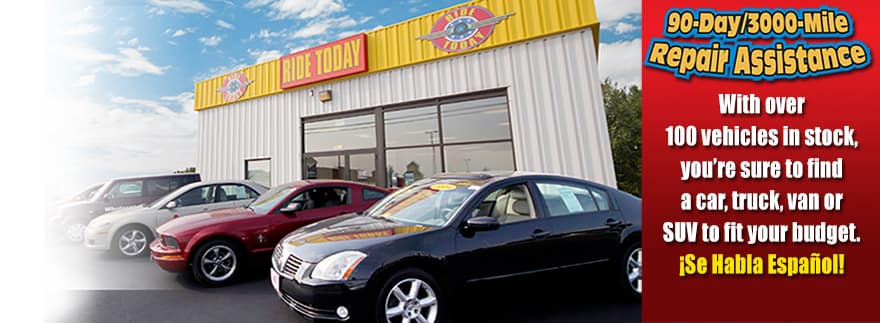 ride today used cars
