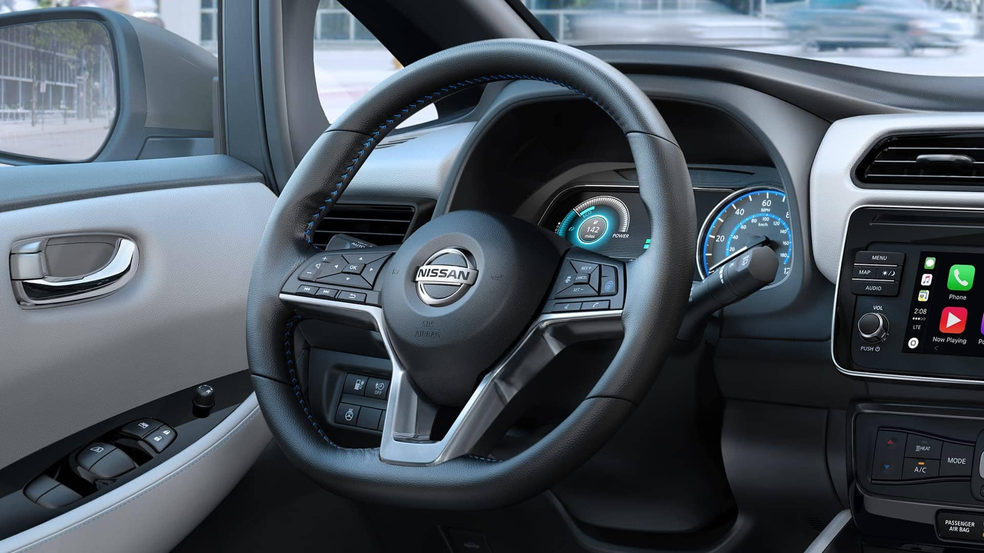2019 Nissan Leaf Steering Wheel