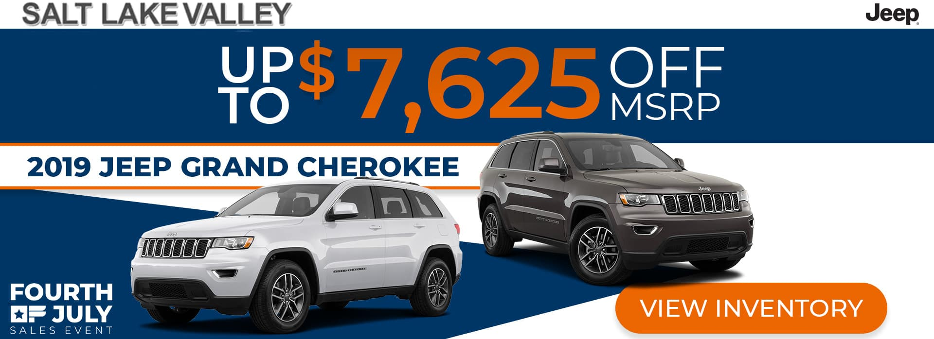 4th of July Sales Event for Grand Cherokee