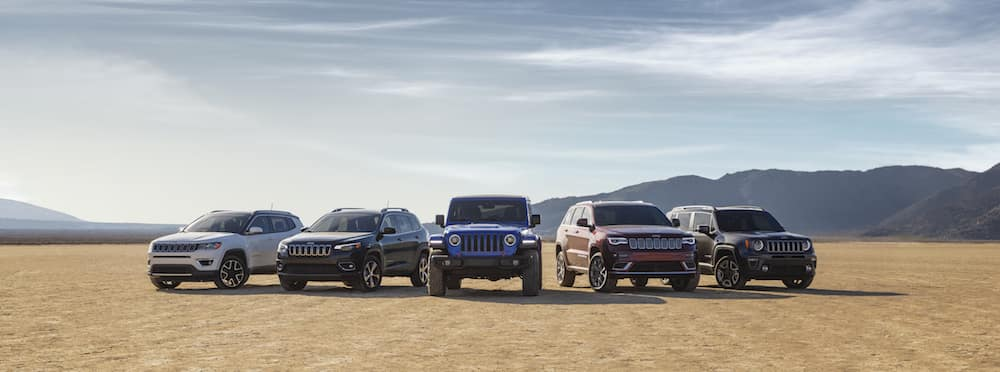Jeep SUV Lineup - Salt Lake Valley CDJR