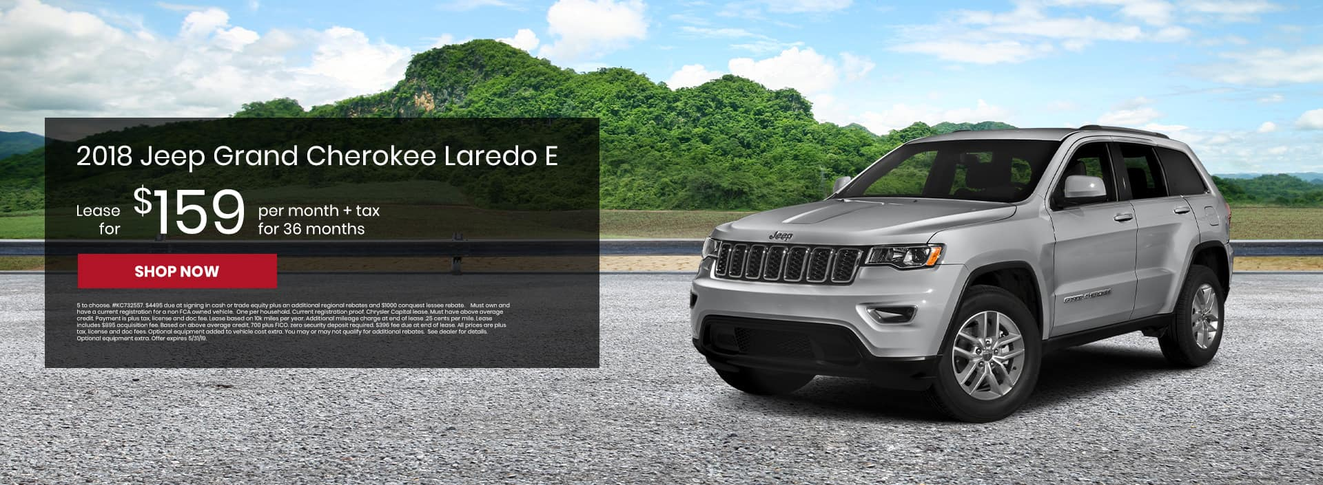 Check our out Jeep Grand Cherokee lease offers