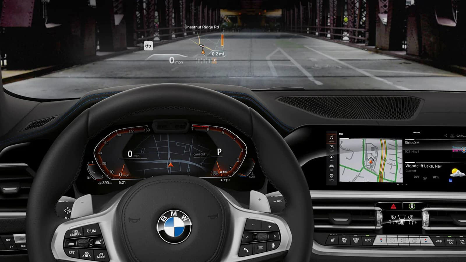 2020 BMW 3 Series Driver Assistance Technology
