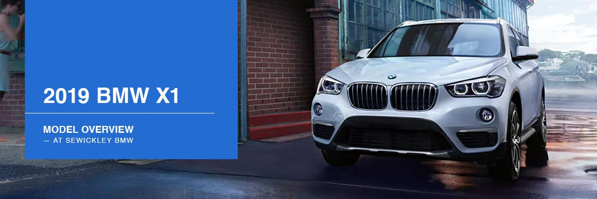2019 BMW X1 Model Overview at Sewickley BMW