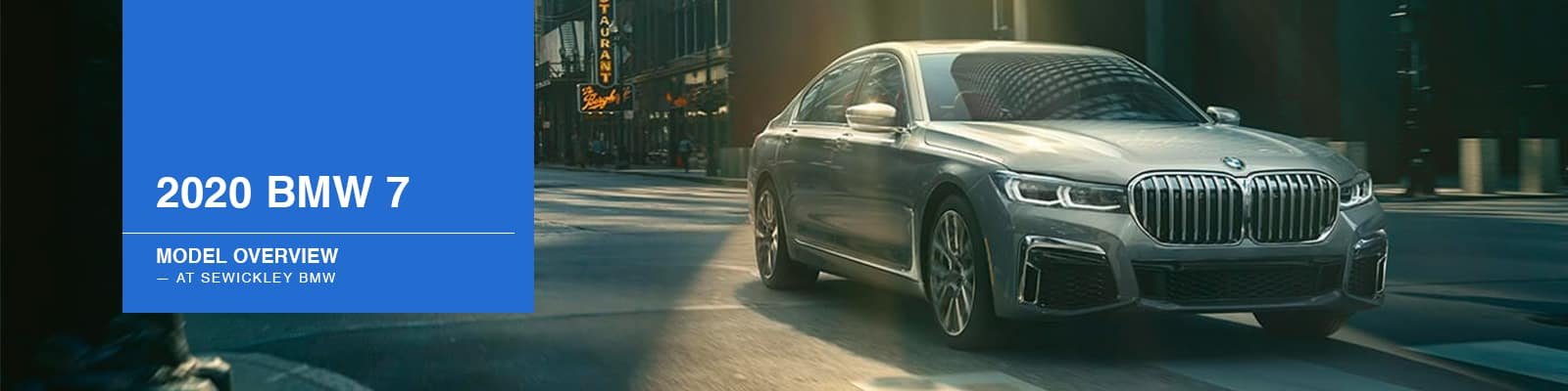 2020 BMW 7 Series Model Overview at Sewickley BMW