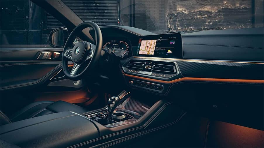 BMW X6 Interior Technology