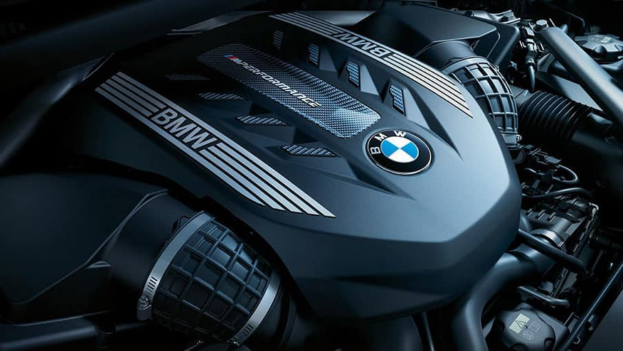 BMW X6 TwinPower V8 Engine