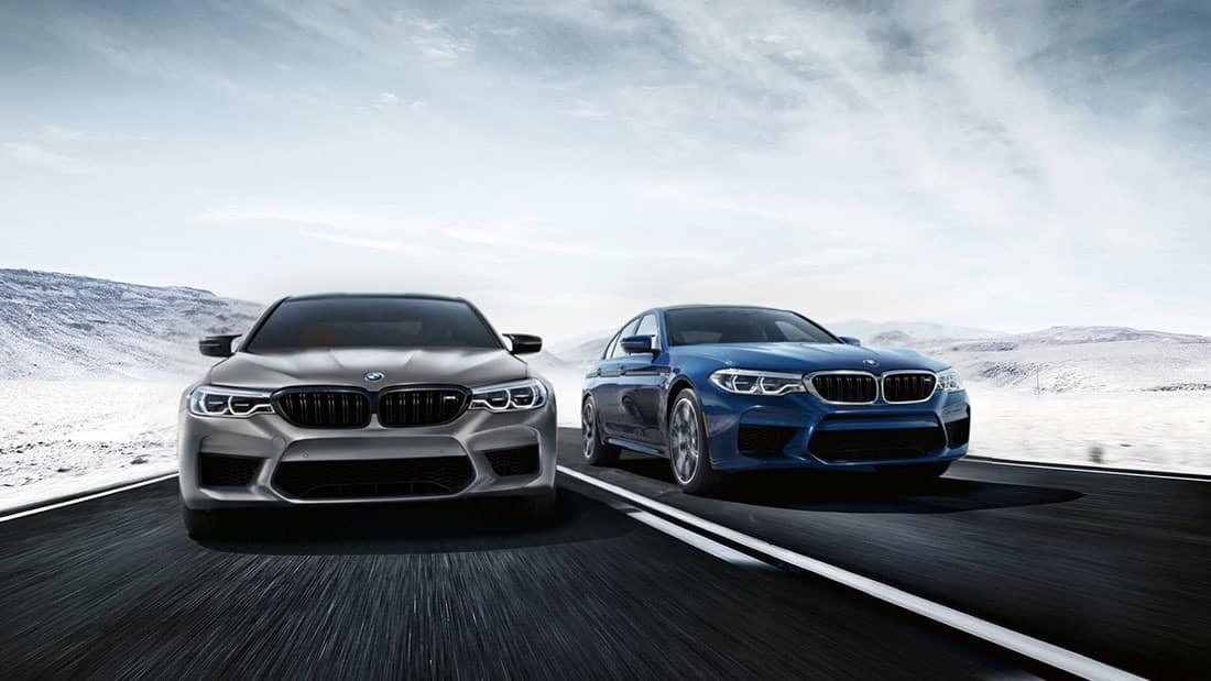 BMW M5 and M5 Competition