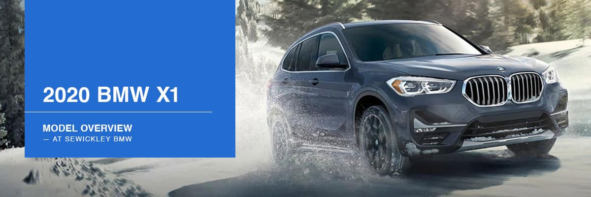 2020 BMW X1 Model Overview at Sewickley BMW