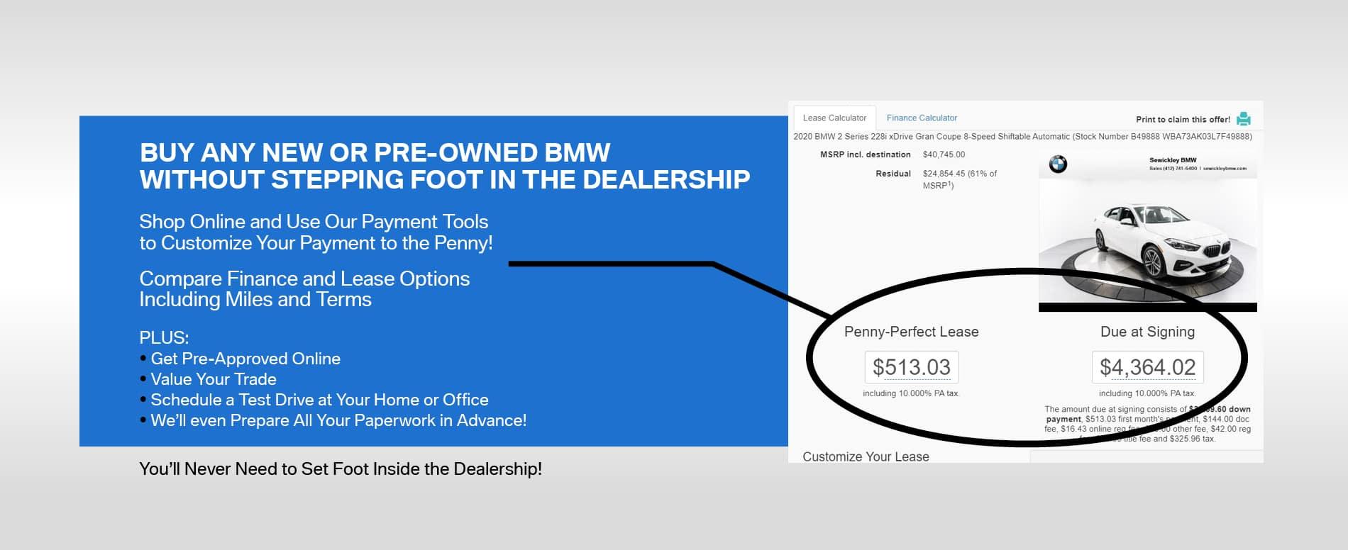 Buy BMW Online