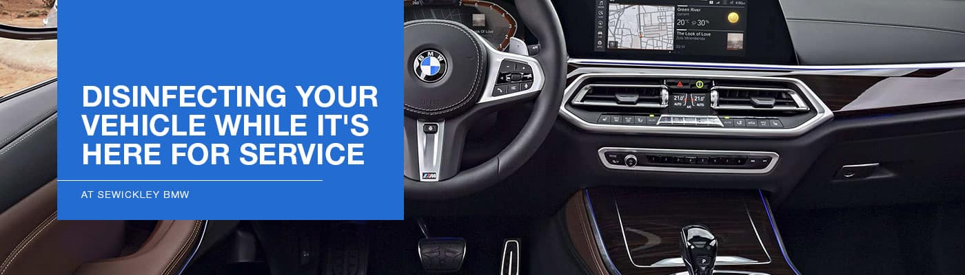 Cleaning Your Vehicle While It Is in for Service at Sewickley BMW