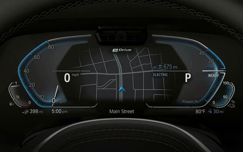 BMW Live Cockpit Professional e-Drive