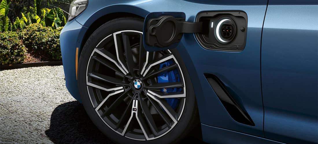 BMW 530e Charge Port