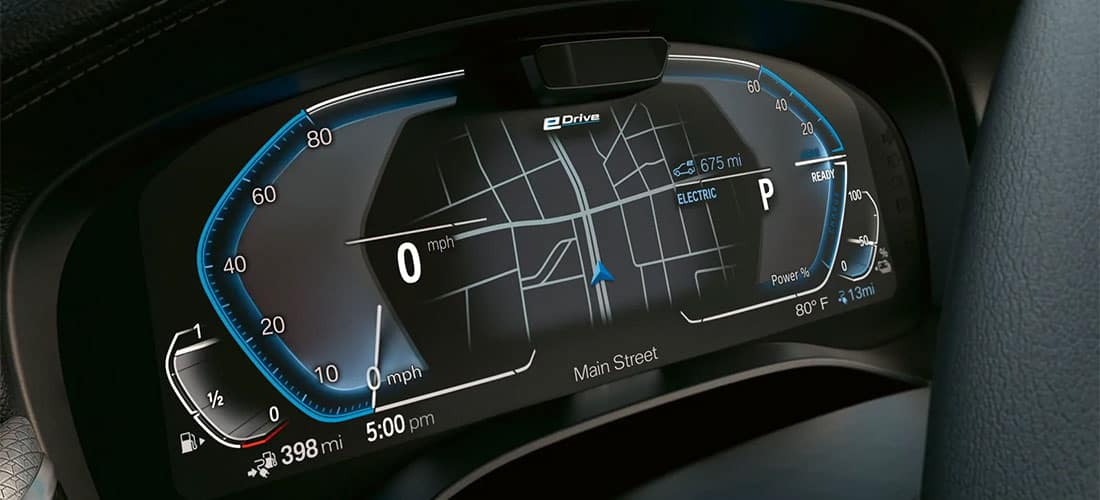 BMW 530e eDrive Display