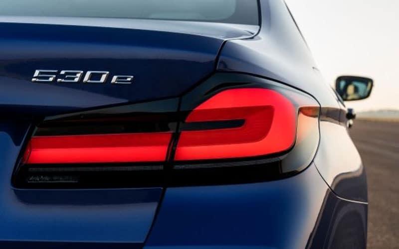 BMW 530e Rear