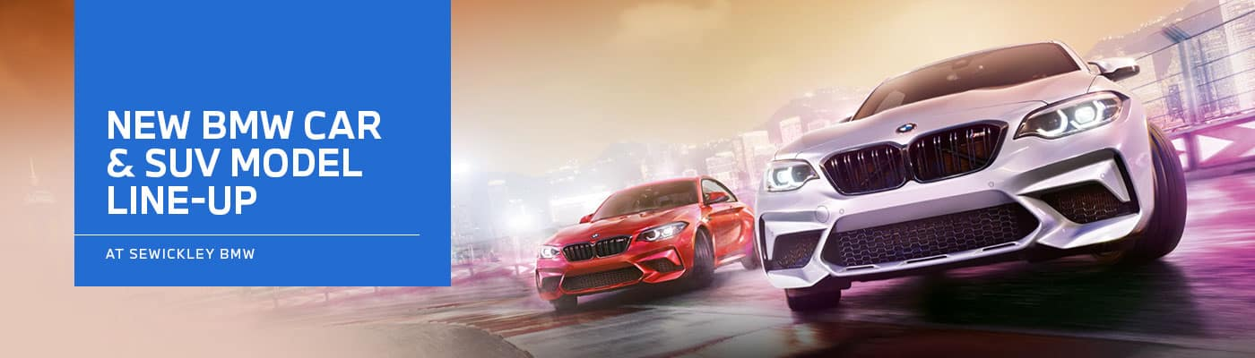 BMW Model Lineup Page at Sewickley BMW