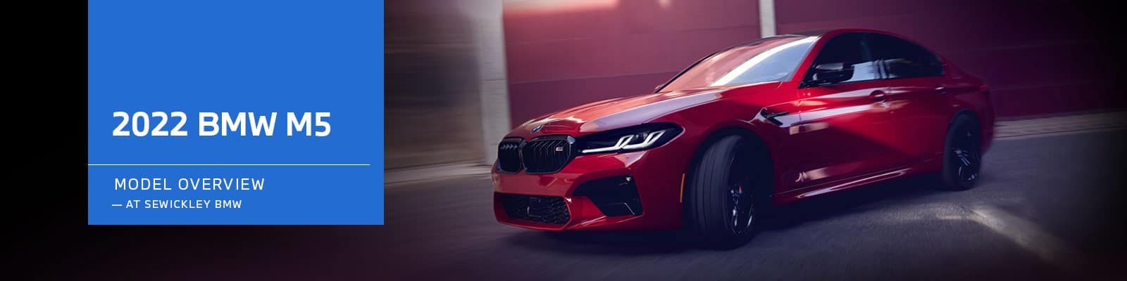2022 BMW M5 Model Overview at Sewickley BMW