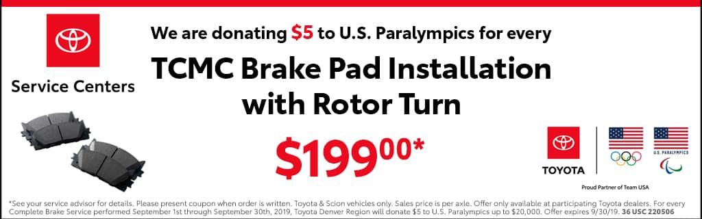 Brake Pad Installation 199