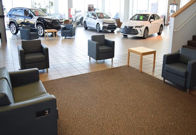 Inside Dealership Photo
