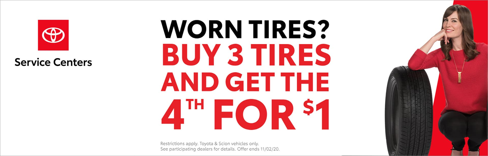 October 2020 – Tire Promotion