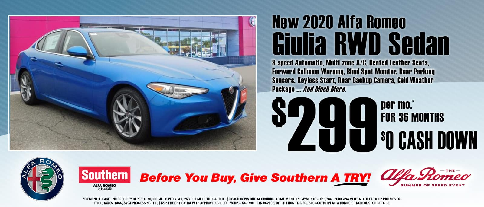 Southern Alfa Romeo Website Slide